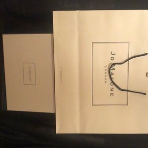 Jo Malone box w/ shopping bag